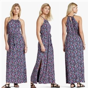 Lucky Brand Floral Paisley Maxi Dress
